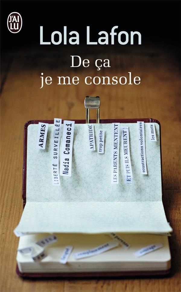 DE CA JE ME CONSOLE