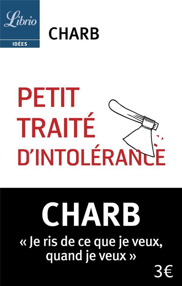 CHARB - PETIT TRAITE D'INTOLERANCE - LES FATWAS DE CHARB