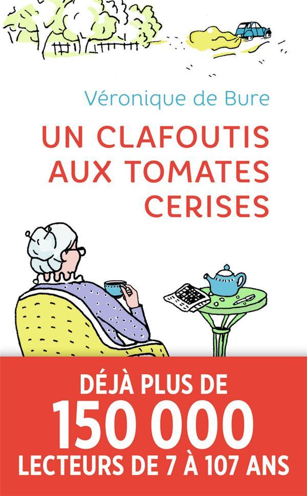 UN CLAFOUTIS AUX TOMATES CERISES