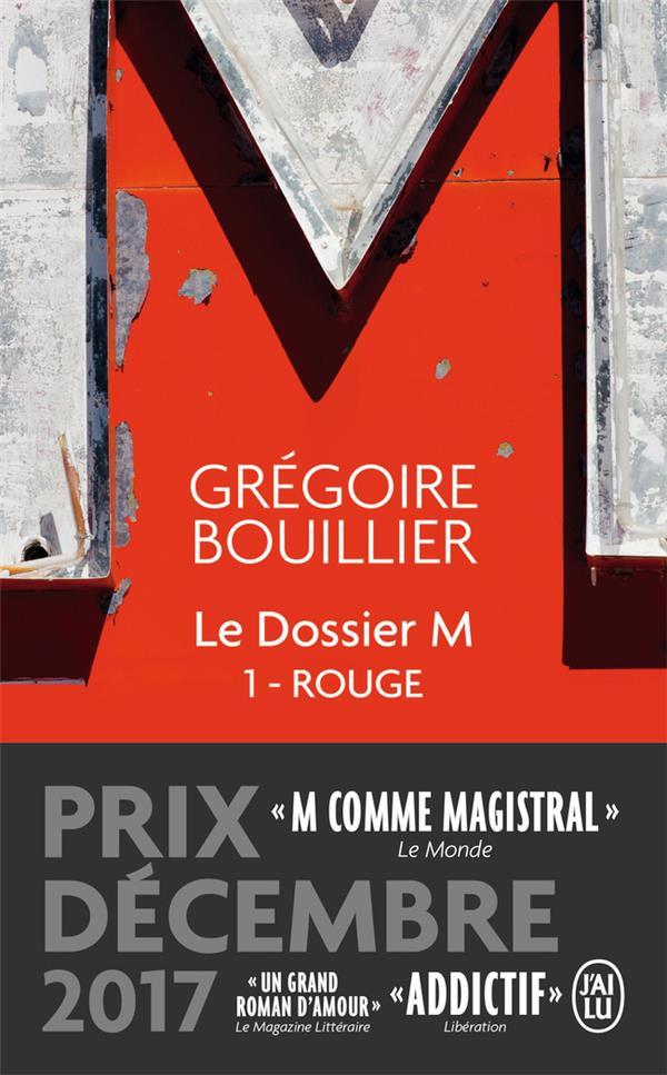 LE DOSSIER M - T01 - ROUGE (LE MONDE)