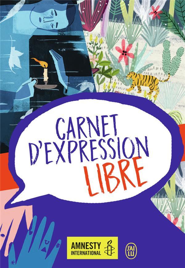 CARNET D'EXPRESSION LIBRE COLLECTIF J'AI LU