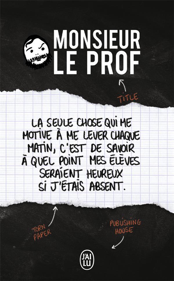 MONSIEUR LE PROF