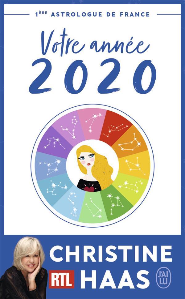 VOTRE ANNEE 2020 HAAS, CHRISTINE J'AI LU