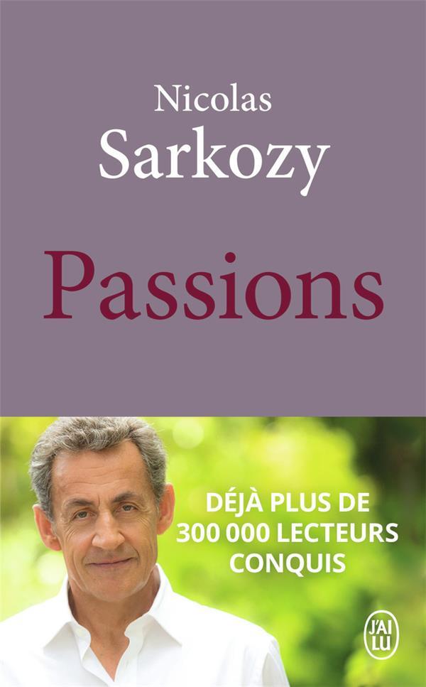 PASSIONS SARKOZY NICOLAS J'AI LU