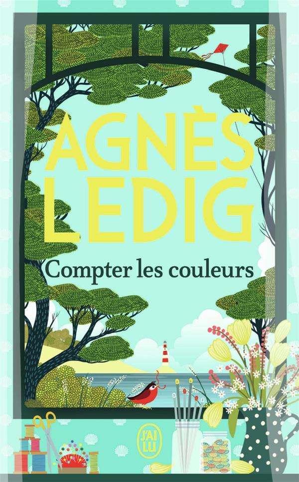 COMPTER LES COULEURS LEDIG AGNES J'AI LU