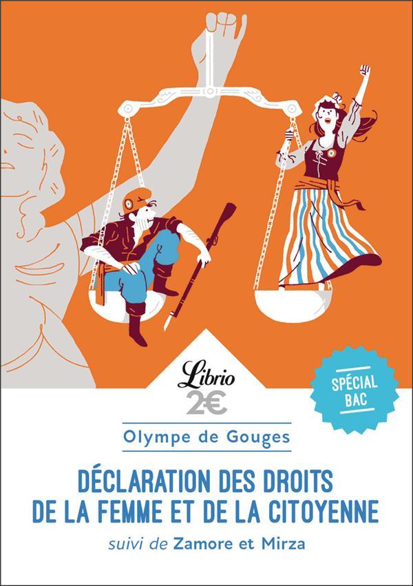 DECLARATION DES DROITS DE LA FEMME ET DE LA CITOYENNE  -  1RE  -  PROGRAMME NOUVEAU BAC 2022