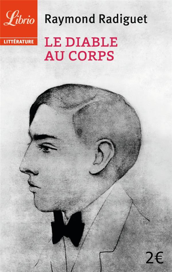 RADIGUET RAYMOND - LE DIABLE AU CORPS