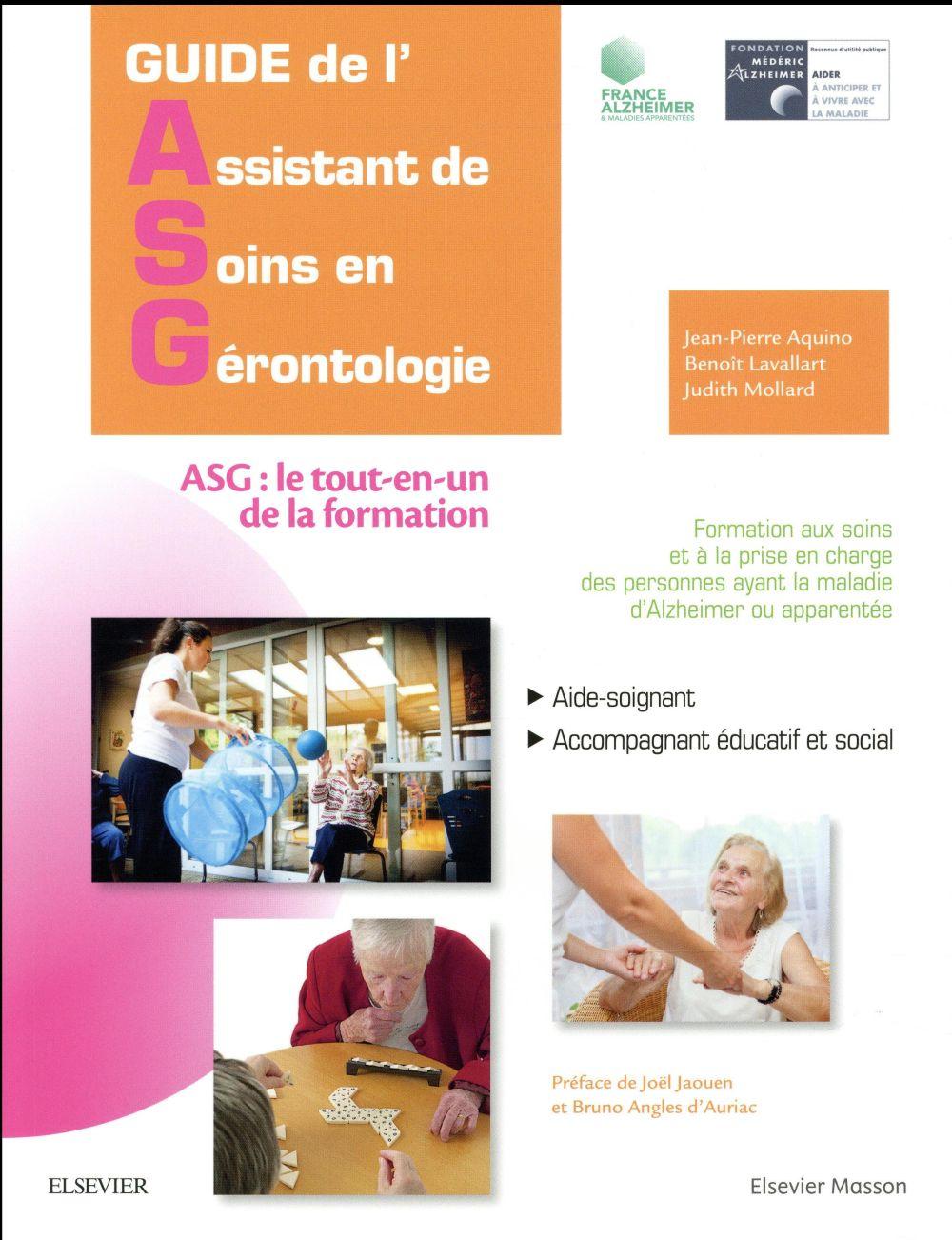GUIDE DE L'ASSISTANT DE SOINS EN GERONTOLOGIE (2E EDITION) Mollard Judith Elsevier Masson