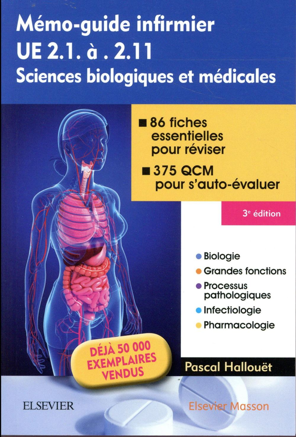 MEMO-GUIDE INFIRMIER - UE 2.1 A 2.11 - SCIENCES BIOLOGIQUES ET MEDICALES