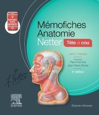 MEMO-FICHES  -  ANATOMIE NETTER  -  TETE ET COU (5E EDITION) HANSEN, JOHN T. MASSON