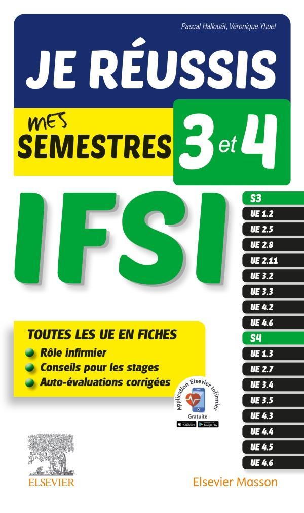 JE REUSSIS MES SEMESTRES 3 ET 4  -  IFSI  -  TOUS LES UE EN FICHES