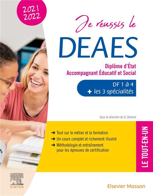 JE REUSSIS LE DEAES, DIPLOME D'ÉTAT ACCOMPAGNANT EDUCATIF ET SOCIAL (EDITION 20212022)  CHAUDET, VINCENT  MASSON