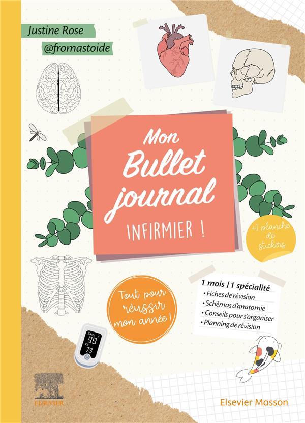 MON BULLET JOURNAL INFIRMIER ! TOUT POUR REUSSIR MON ANNEE !