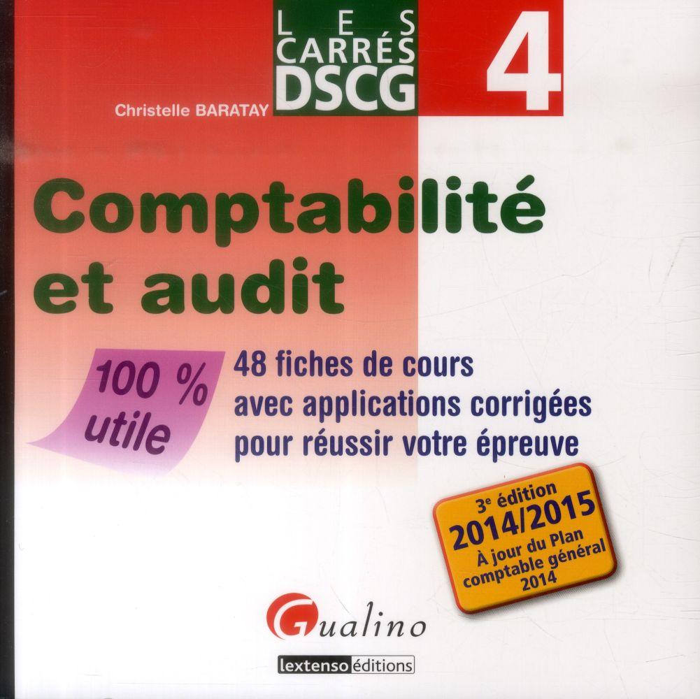 COMPTABILITE ET AUDIT 48 FICHES DE COURS AVEC APPLICATIONS CORRIGEES POUR REUSSIR VOTRE EPREUVE - 10