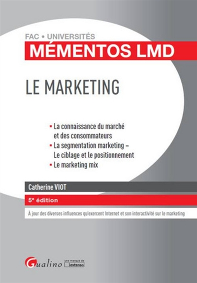LE MARKETING   5EME EDITION