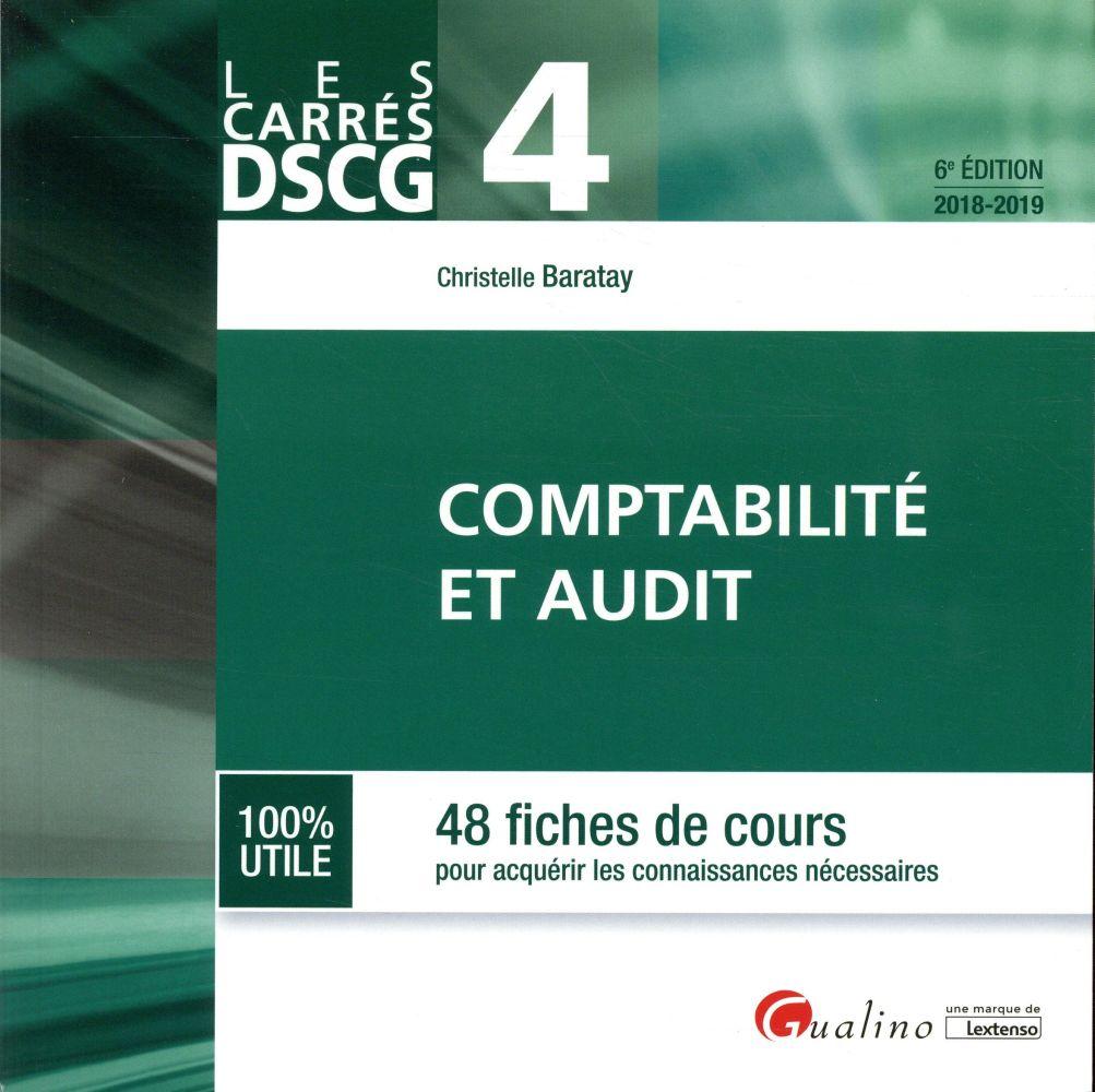 DSCG 4   COMPTABILITE ET AUDIT 6EME EDITION
