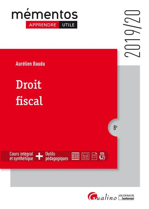 DROIT FISCAL (EDITION 20192020)