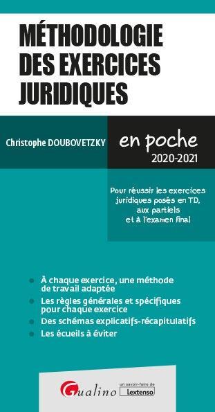 METHODOLOGIE DES EXERCICES JUR