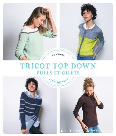 TRICOT TOP DOWN  -  PULLS et GILETS