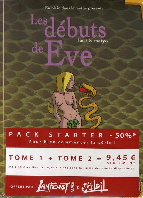 EN PLEIN DANS LE MYTHE  -  COFFRET T.1  -  LES DEBUTS DE EVE  -  T.2  -  LES DEBUTS DE JESUS MATYO BAST Soleil Productions