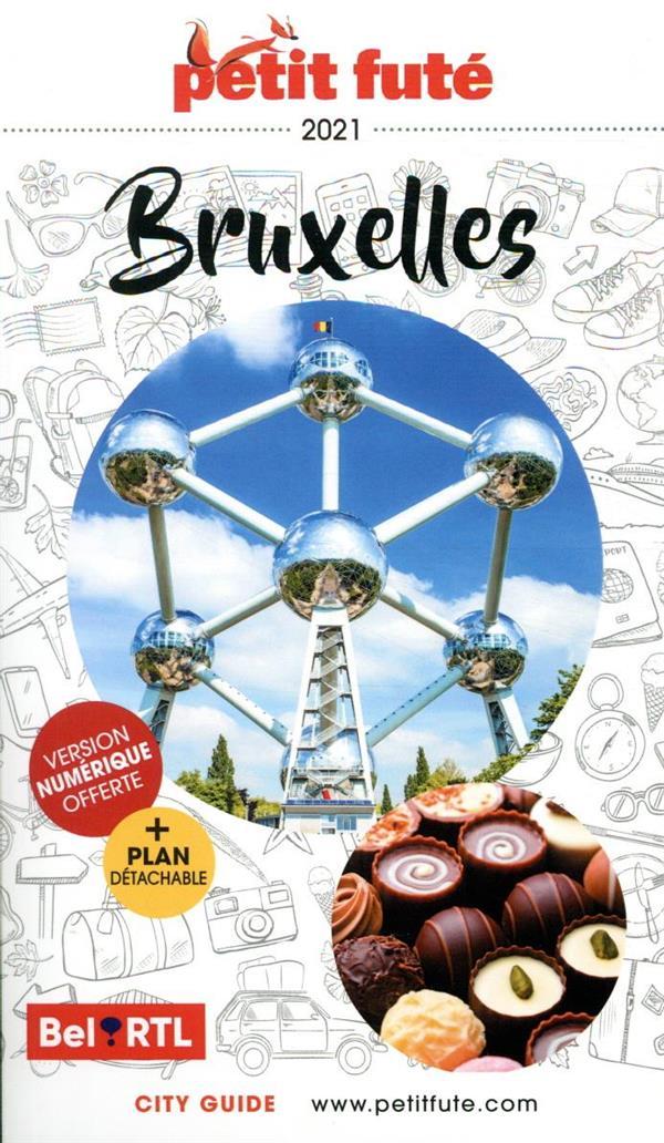GUIDE PETIT FUTE  -  CITY GUIDE  -  BRUXELLES (EDITION 2021)