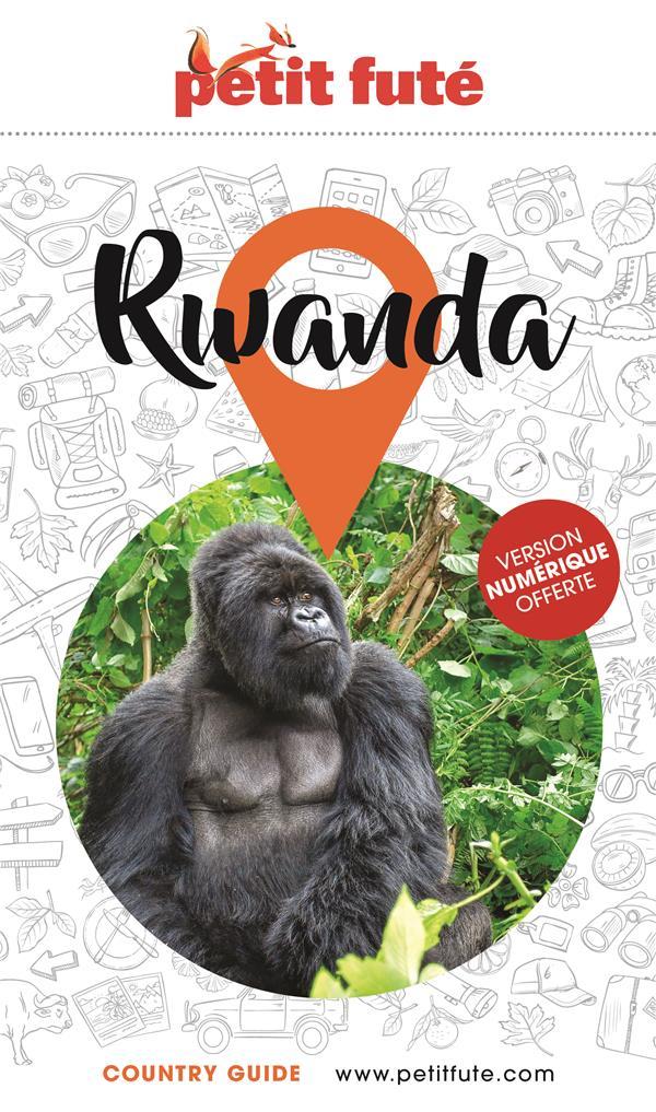 GUIDE PETIT FUTE  -  COUNTRY GUIDE  -  RWANDA (EDITION 2021)
