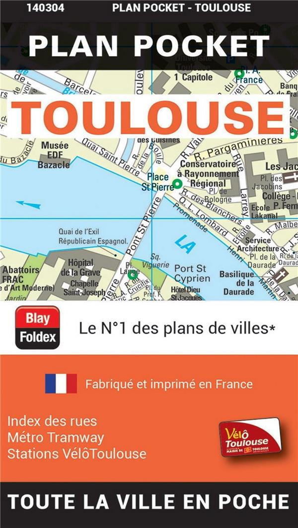 TOULOUSE  -  PLAN POCKET