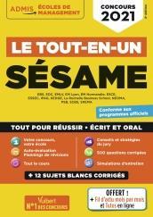 LE TOUT-EN-UN SESAME - 12 SUJETS BLANCS - ECRITS ET ORAUX - TUTOS OFFERTS - CONCOURS 2021