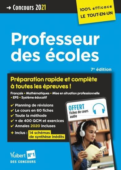 CRPE  -  CONCOURS PROFESSEUR DES ECOLES - PREPARATION RAPIDE ET COMPLETE A TOUTE (EDITION 2021) LOISON, MARC  VUIBERT