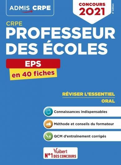 CRPE PROFESSEUR DES ECOLES - EPS  EN 40 FIC HES