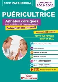 PUERICULTRICE ANNALES CORRIGEES CONCOURS 2021-2022 - ENTRAINEMENT INTENSIF - IFPDE - 2021-2022 GUEGUEN, MANDI  VUIBERT