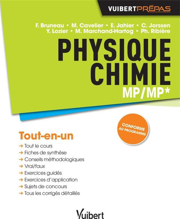 PHYSIQUE CHIMIE MP  MP*