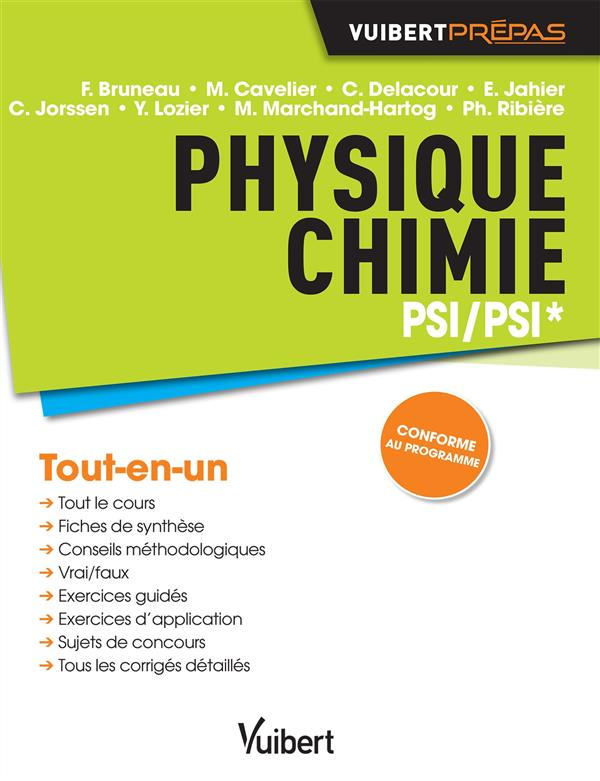 PHYSIQUE CHIMIE PSI PSI*