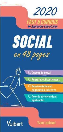 FAST et CURIOUS  -  SOCIAL EN 48 PAGES (EDITION 2020)