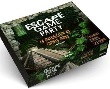 ESCAPE GAME : LA MALEDICTION DU TEMPLE MAYA PRIEUR/VIVES/MOTTET MANGO