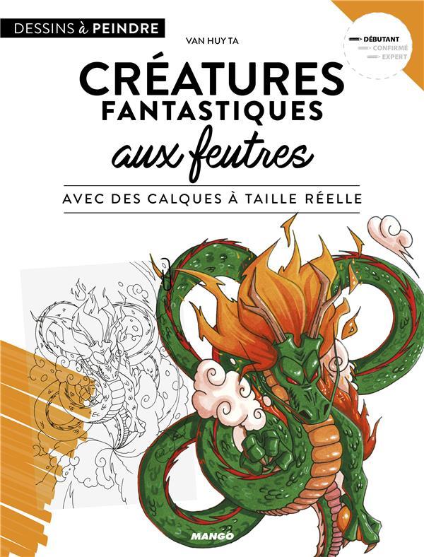 CREATURES AUX FEUTRES AVEC DES CALQUES A TAILLE REELLE
