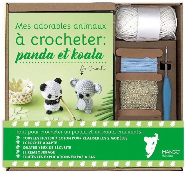 MES ADORABLES ANIMAUX A CROCHETER : PANDA ET KOALA CLESSE, MARIE MANGO