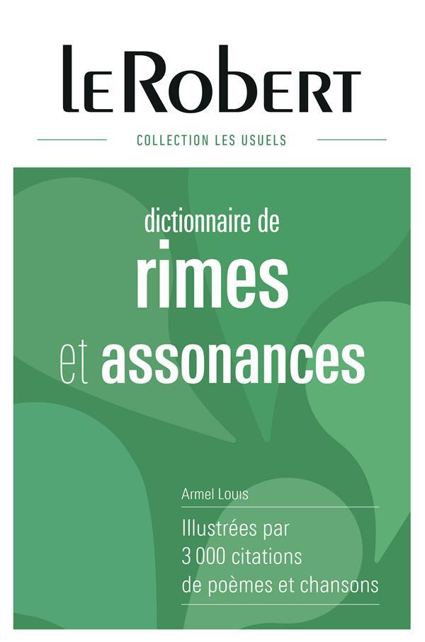 RIMES & ASSONANCES -RELIE- Louis Armel Le Robert