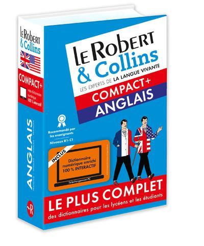 ROBERT & COLLINS COMPACT+ ANGLAIS + CARTE  Le Robert