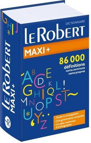 LE ROBERT MAXI + LANGUE FRANCAISE