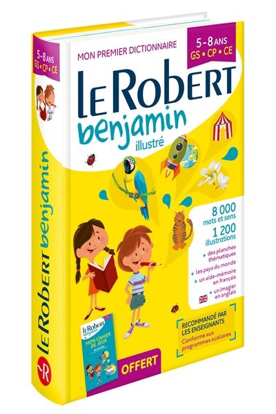 DICTIONNAIRE LE ROBERT BENJAMIN  -  58 ANS  -  GS, CP, CE (EDITION 2018)