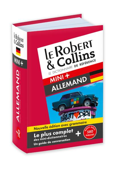 ROBERT & COLLINS MINI+ ALLEMAND - NOUVELLE EDITION AVEC GRAMMAIRE COLLECTIF LE ROBERT