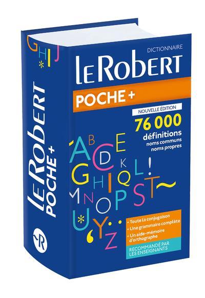 LE ROBERT DE POCHE PLUS  LE ROBERT