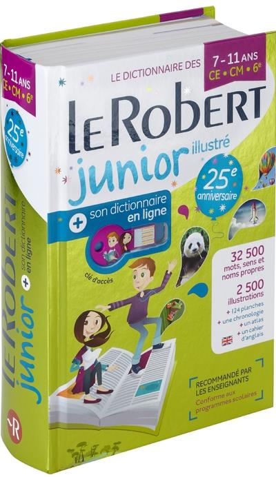 LE ROBERT JUNIOR ILLUSTRE + SON DICTIONNAIRE EN LIGNE + CLE  LE ROBERT