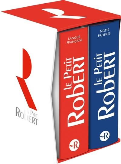 DICTIONNAIRE LE PETIT ROBERT LANGUE FRANCAISE  -  DICTIONNAIRE LE PETIT ROBERT NOMS PROPRES COLLECTIF LE ROBERT