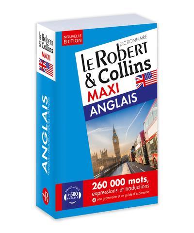 LE ROBERT et COLLINS  -  MAXI  -  ANGLAIS (EDITION 2019) COLLECTIF LE ROBERT