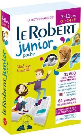 LE ROBERT JUNIOR POCHE COLLECTIF LE ROBERT