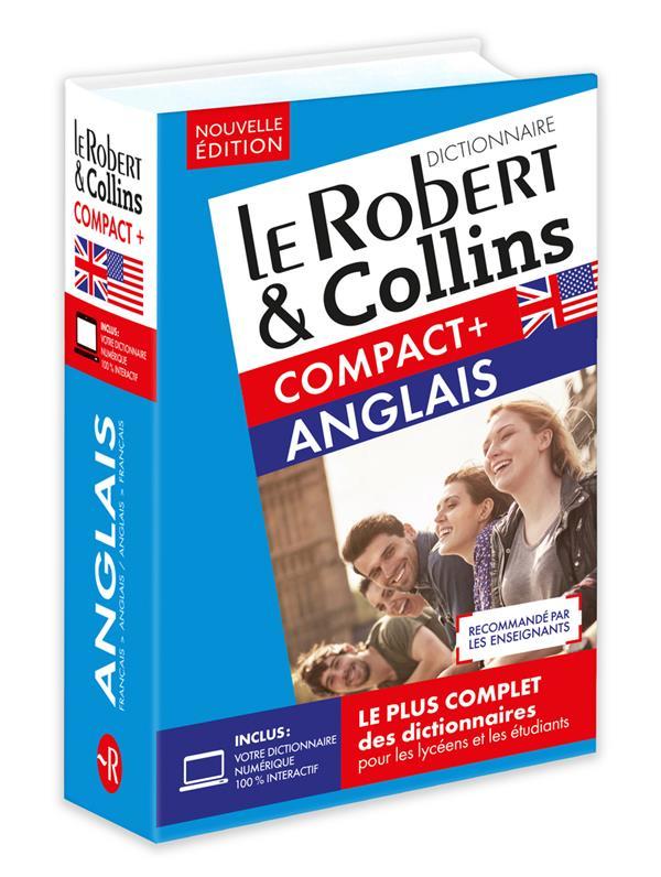 LE ROBERT & COLLINS COMPACT+ ANGLAIS COLLECTIF LE ROBERT
