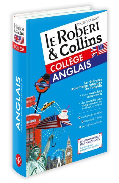 LE ROBERT & COLLINS COLLEGE ANGLAIS COLLECTIF LE ROBERT