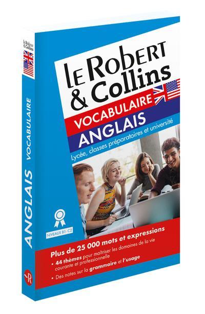 LE ROBERT & COLLINS VOCABULAIRE ANGLAIS COLLECTIF LE ROBERT